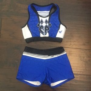 Other - Cheer Athletics Reversible Sports Bra and shorts